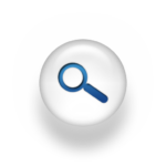 079587-blue-white-pearl-icon-business-magnifying-glass-ps